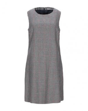Короткое платье CAPPELLINI by PESERICO. Цвет: бежевый
