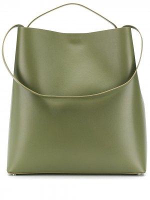 Большая сумка-тоут Sac Aesther Ekme. Цвет: зеленый