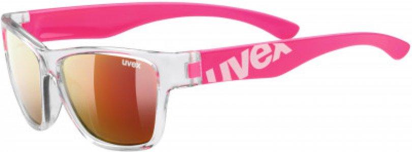 Солнцезащитные очки детские Sportstyle 508 Uvex. Цвет: розовый