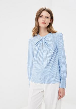 Блуза Marks & Spencer MA178EWASJA5. Цвет: голубой