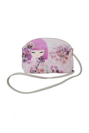 Сумочка на плечо Макото Kimmidoll. Цвет: розовый