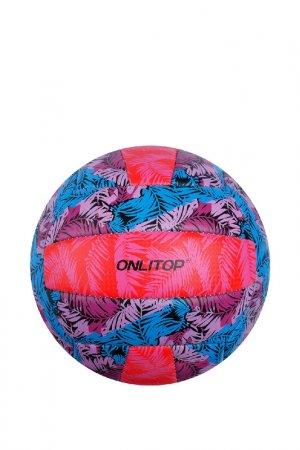 Мяч ONLITOP. Цвет: красный, розовый