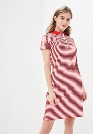 Платье Tommy Hilfiger. Цвет: красный