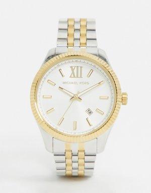 Наручные часы из разных металлов MK8752 Lexington-Мульти Michael Kors
