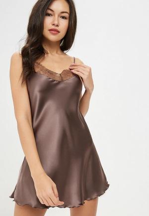 Комбинация Felisse. Цвет: коричневый