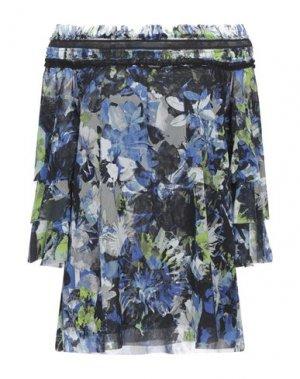 Блузка FUZZI. Цвет: ярко-синий