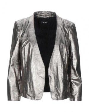 Пиджак DACUTE. Цвет: свинцово-серый