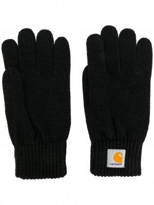 Трикотажные перчатки Carhartt. Цвет: черный