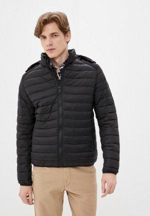 Куртка утепленная Jorg Weber. Цвет: черный
