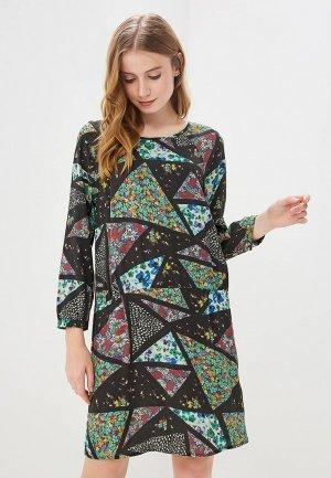 Платье Vis-a-Vis. Цвет: разноцветный