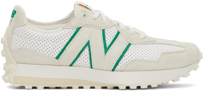 Off-White New Balance Edition 327 Sneakers Casablanca. Цвет: off white