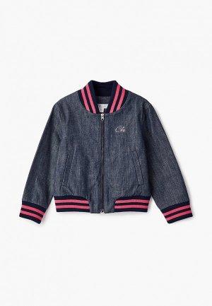 Куртка Chobi. Цвет: синий