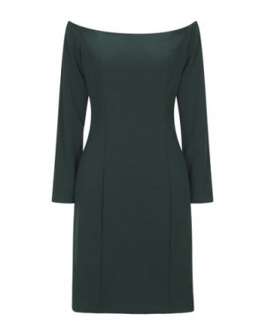 Короткое платье RINASCIMENTO. Цвет: зеленый