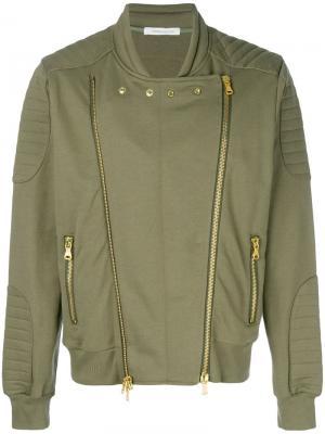 Куртка-бомбер с двумя молниями Pierre Balmain