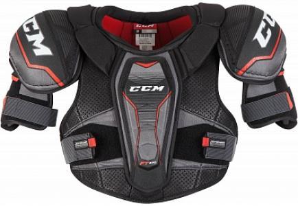 Нагрудник хоккейный SP370 CCM. Цвет: черный