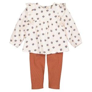 Комплект из 2 предметов блузка LaRedoute. Цвет: другие