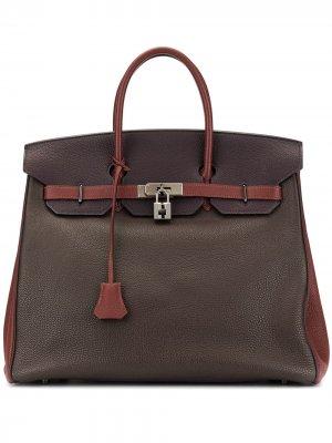 Сумка-тоут Aucroix 36 Hermès. Цвет: коричневый