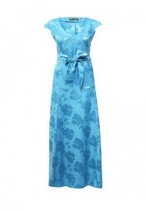 Платье Love & Light. Цвет: голубой