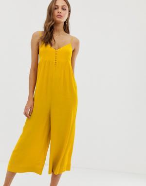 Комбинезон BA&SH. Цвет: желтый