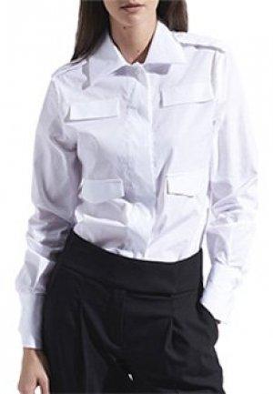 Рубашка ELEVENTY. Цвет: белый
