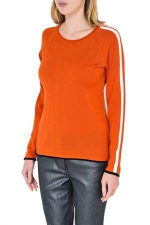 Пуловер Caterina Leman. Цвет: черный, оранжевый (09/12)