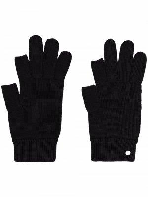 Кашемировые перчатки Touch Screen Rick Owens. Цвет: черный