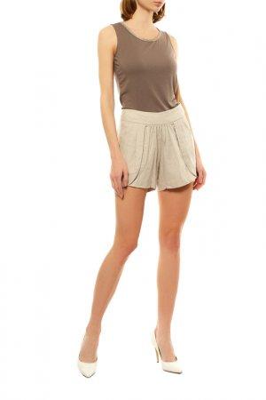Блуза Armani Jeans. Цвет: темно-бежевый, золотая окантов