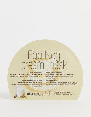 Крем-маска с ароматом эгг-нога iN.gredients-Бесцветный MasqueBAR