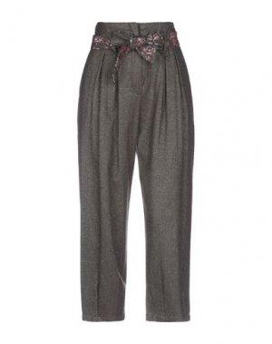 Повседневные брюки BRAND UNIQUE. Цвет: какао