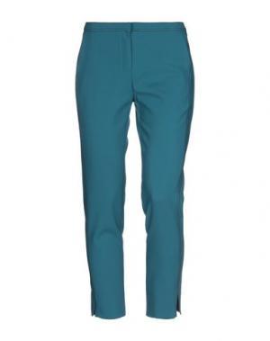 Повседневные брюки ANNARITA N. Цвет: цвет морской волны