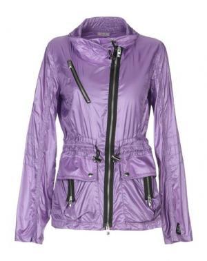 Куртка HOGAN. Цвет: фиолетовый