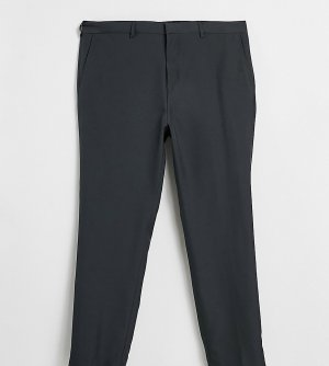 Серые костюмные брюки классического кроя -Серый Jacamo