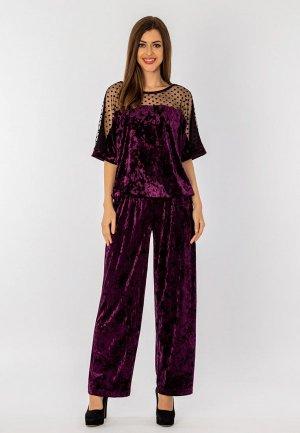 Костюм S&A Style. Цвет: фиолетовый