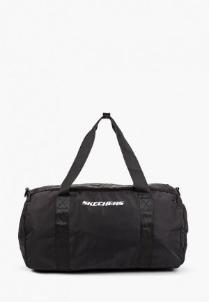 Сумка спортивная Skechers Travel bag Womens. Цвет: черный