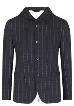 Пиджак TOMBOLINI. Цвет: сине-белый
