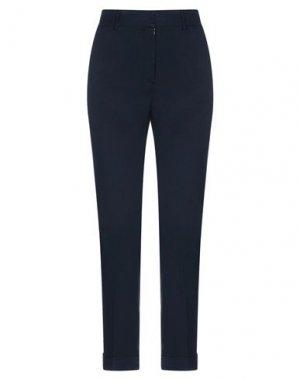 Повседневные брюки GOSSIP. Цвет: темно-синий