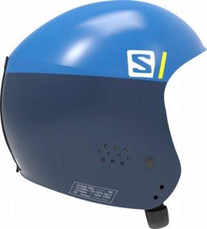Шлем детский S RACE INJECTED JR Salomon. Цвет: синий