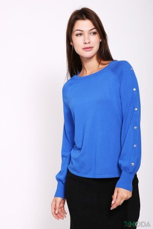 Пуловер Taifun. Цвет: синий
