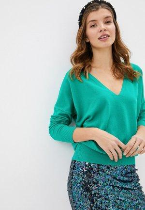 Пуловер By Swan. Цвет: бирюзовый