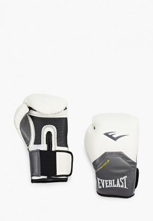 Перчатки боксерские Everlast Pro Style Elite. Цвет: белый