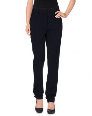 Повседневные брюки ABSOLU. Цвет: темно-синий
