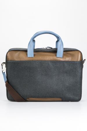 Briefcase bag Giorgio Fedon. Цвет: grey, brown