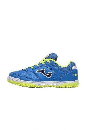 Бутсы TOP FLEX Joma. Цвет: синий, салатовый