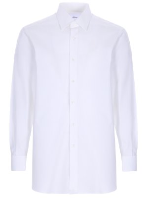 Рубашка Slim Fit под запонки BRIONI