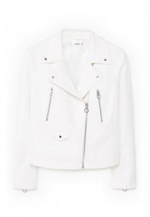 Куртка Mango - NANCY. Цвет: белый