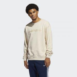Свитшот Embroidered Crew Originals adidas. Цвет: none