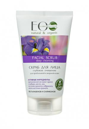 Скраб для лица EO laboratorie Глубокое очищение проблемной и жирной кожи, 150 мл