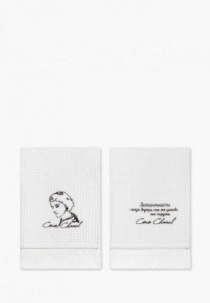 Набор полотенец кухонных Bellehome Coco Chanel, 50х70