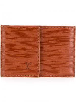 Классический кошелек Louis Vuitton Vintage. Цвет: коричневый