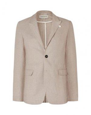Пиджак OLIVER SPENCER. Цвет: песочный